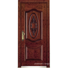 Turkish Style Steel Wooden Armored Door (LTK-A057)