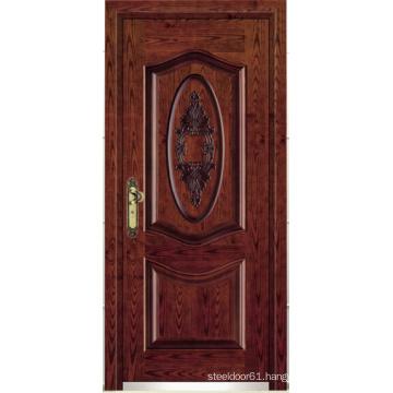 Turkish Style Steel Wooden Armored Door (LTK-A057)