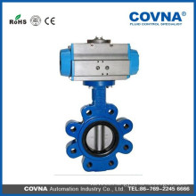Ductile iron aluminum bronze disc lug style butterfly valves