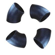 Stahl nahtlose 45 Krümmerrohrverschraubungen