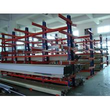 indusrial metal shelving unit