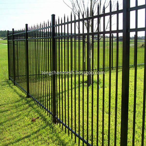 metal fence palisade