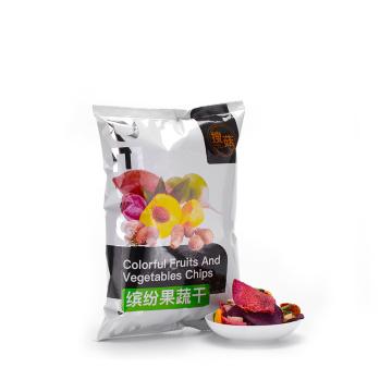 Sabroso sabor amazónico y chips saludables de frutas mezcladas