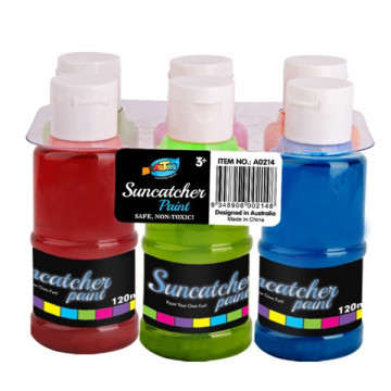 Suncatcher Activity diy craft suncatcher paint 6 * 120ml