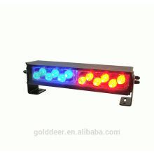 Impermeable rojo / Blue12V luz de cubierta policía Led de luz estroboscópica