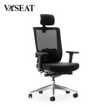 BIFMA Bureau pivotant ergonomique exécutif maille et chaise en tissu