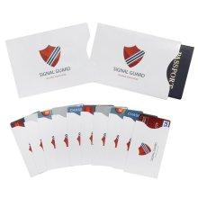 Mangas de bloqueo RFID (10 tarjetas de crédito y 2 protectores de pasaporte) (420005)