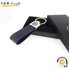 Anel chave de couro personalizado promoção pu (y03797)