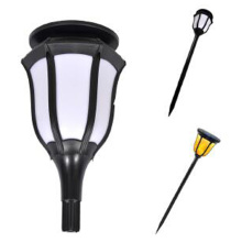 Energy Saving Solar Street LED Flame Effect Light