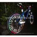 Fluorescent MTB Bike Stickers Bicycle Wheel Reflector Rim Light Tape for safety