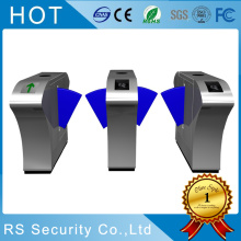 China supplier OEM for Automatic Fare Gate Waist High Pedestrian Access Control Flap Turnstiles export to France Importers
