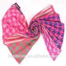 """T 80x80 80x56 x42 """"сплетенная полиэфирная ткань с вуалью для шарфа"""