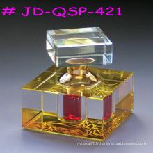 Décoration de salle de bouteilles de parfum de métiers en cristal (JD-QSP-121)