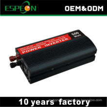 Off grid 220V DC to AC 500W car inverter with USB output