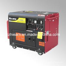 Groupe électrogène diesel silencieux refroidi à l'air de 4kw (DG5500SE)