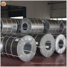 ASTM, GB, JIS Standard Z40 Fita de aço galvanizada com alta precisão dimensional