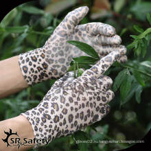 SRSAFETY 13G PU с пальмовым покрытием дамы перчатки / садовые перчатки перчатки вязальные машины цена