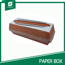 Kundenspezifische Lebensmittel Grade Hotdog / Fastfood Verpackung Box