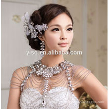 wedding diamond bra strap