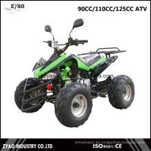 """110cc Engine + Reverse Gear EPA Quad Bikes para la venta 125cc ATV con 7 """"neumático 8"""" neumático"""
