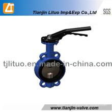 Boa Qualidade Válvula Borboleta de Ferro Fundido com Disco Ss304
