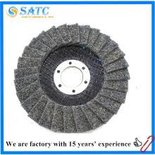 Disco de la aleta del paño del no tejido 100x16m m de la fuente de la fábrica de China