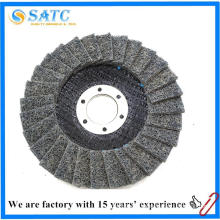 China factory supply 100x16mm non-woven cloth flap disc