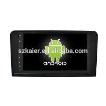 Núcleo Octa! Android 8.0 carro dvd para ML, GL com 9 polegadas tela capacitiva / GPS / Link Mirror / DVR / TPMS / OBD2 / WIFI / 4G
