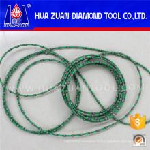 Scie à fil de diamant sans fin verte de 9.0mm pour le granit