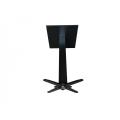 popular restaurant table stool cast iron black base
