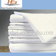 Hoja de cama casera blanca suave estupenda de alta calidad de los niños de la alta calidad