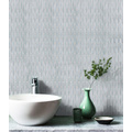 White Waterproof Glass Mosaic Wall Tiles For Toilets