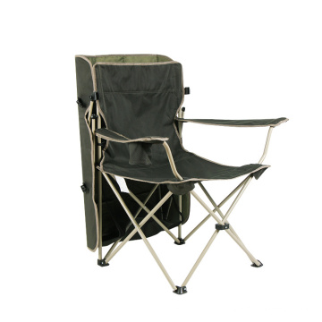 Lightweight folding beach lounge chair portable camp fishing chair with canopy