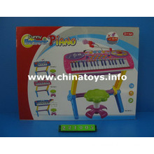 Electrical Plastic Toys Organ with Musical Mike (221005)