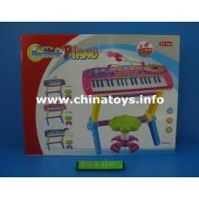Elétrica brinquedos de plástico órgão com musical Mike (221005)
