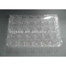 24/32 Bandejas de huevos de codorniz de plástico