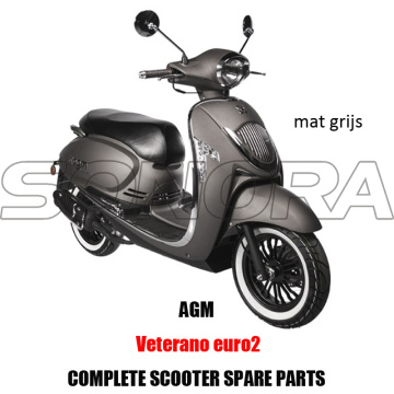 AGM VETERANO SCOOTER KIT CORPS PIECES MOTEUR SCOOTER COMPLET PIECES DE RECHANGE PIECES DETACHEES ORIGINALES