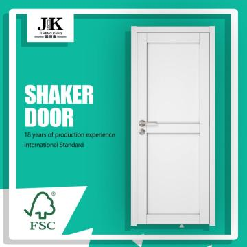 JHK-SK02 2 Panel Shaker Kitchen Designs Custom Wood Doors