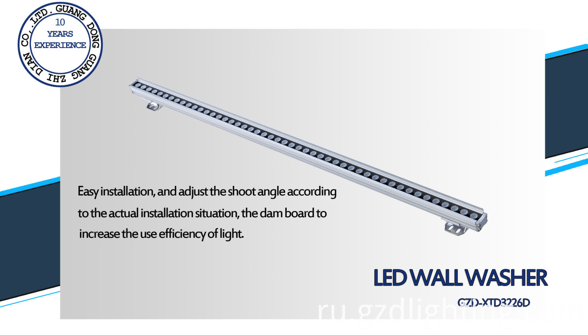 facade decorative led linear light
