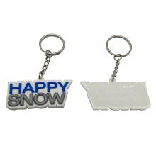 Custom Logo 2d Soft Pvc Plastic Keychain,Rubber 3D Key Chain