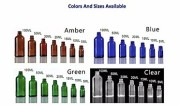 5ml 10ml 15m 20ml 30ml 50ml 100ml Essential oil glass bottles