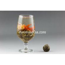 Hong Hong Huo Huo (amor del lirio rojo) té floreciente