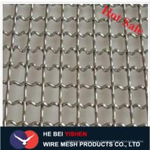 De alta calidad galvanizado / acero inoxidable malla de alambre prensado