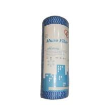Rouleau d'essuyage à sec non tissé multi-usages pour nettoyage Spunlace