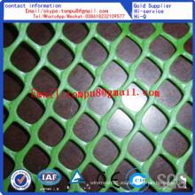 Venta directa de fábrica de malla plana plástica