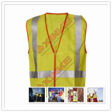 EN11611 fire protection uniform with high visibility color