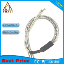 electric cartridge heating element with casing tube