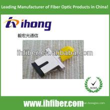 SC-ST Fibra Óptica Adaptador Híbrido corpo metálico simplex