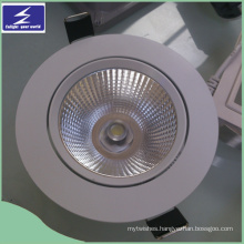 7W Warm White COB Dimmer LED Ceiling Downlight