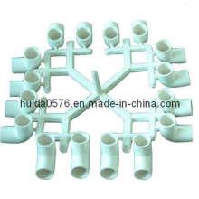 Molde de encaixe de tubulação (cotovelo de 16 cavidades 90 graus)